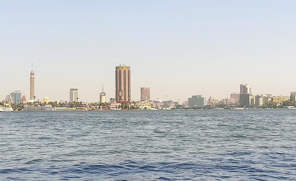 Вид на Каир с Нила