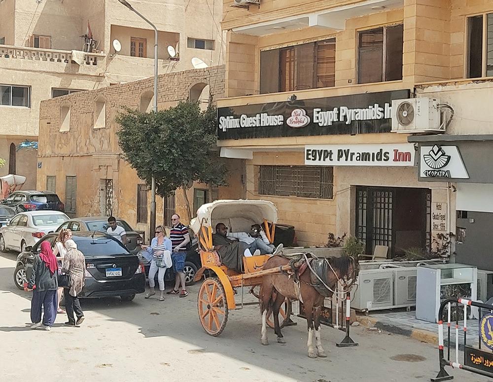 Отель Egypt pyramids inn в Каире