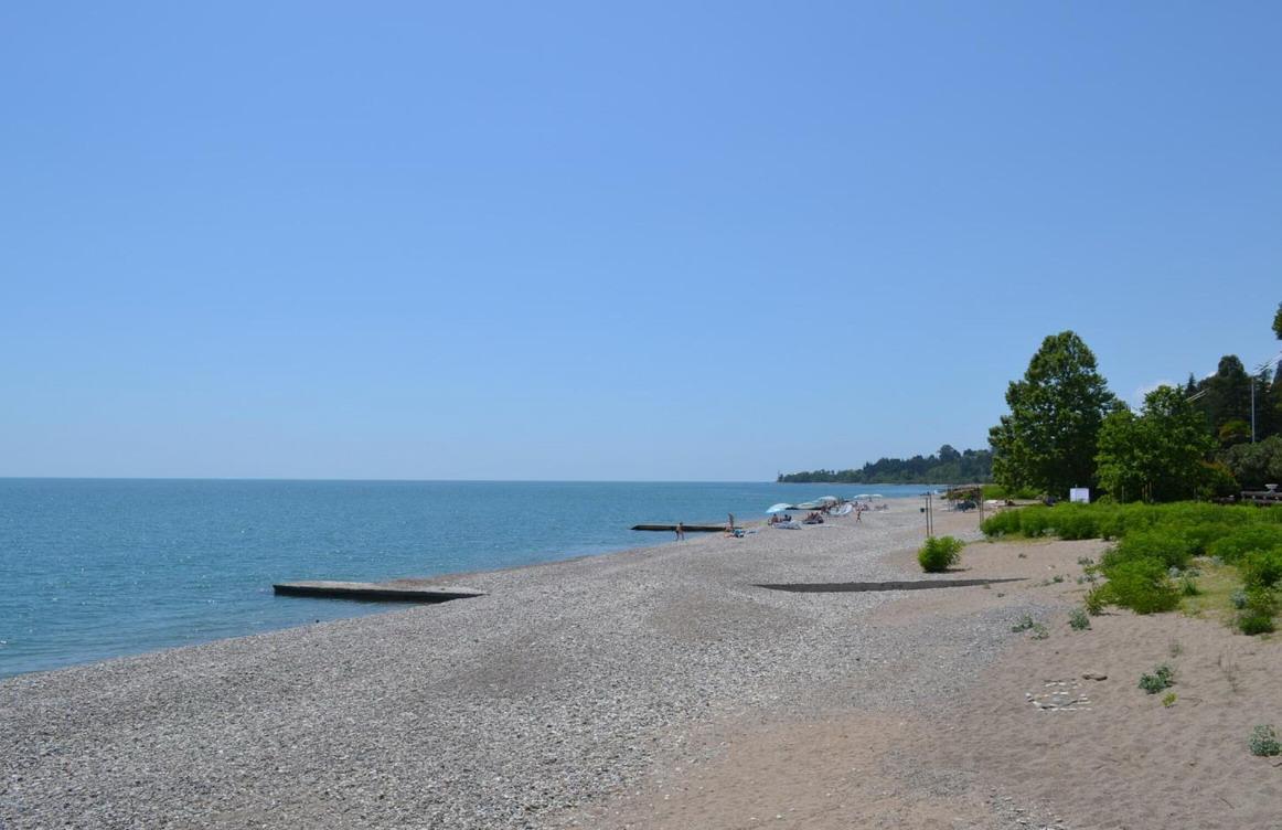 Новый Афон пляж