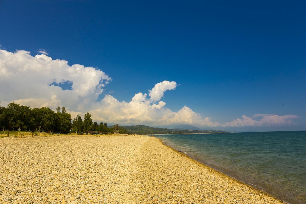 Гудаута пляж