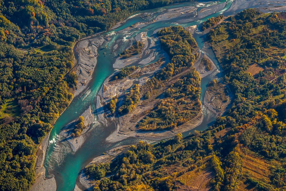 Абхазия река Кодор