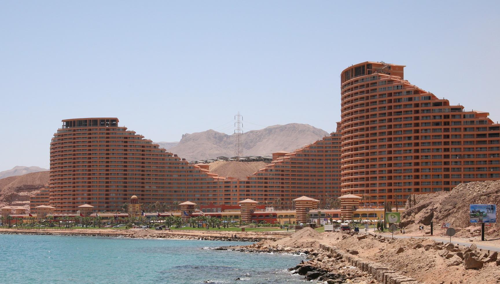 Айн-Сохна — самая молодая курортная гавань Египта