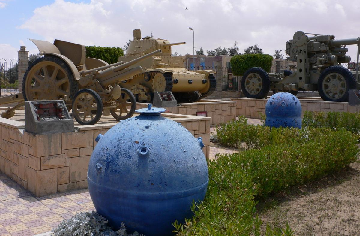 Военный музей в Эль-Аламейне